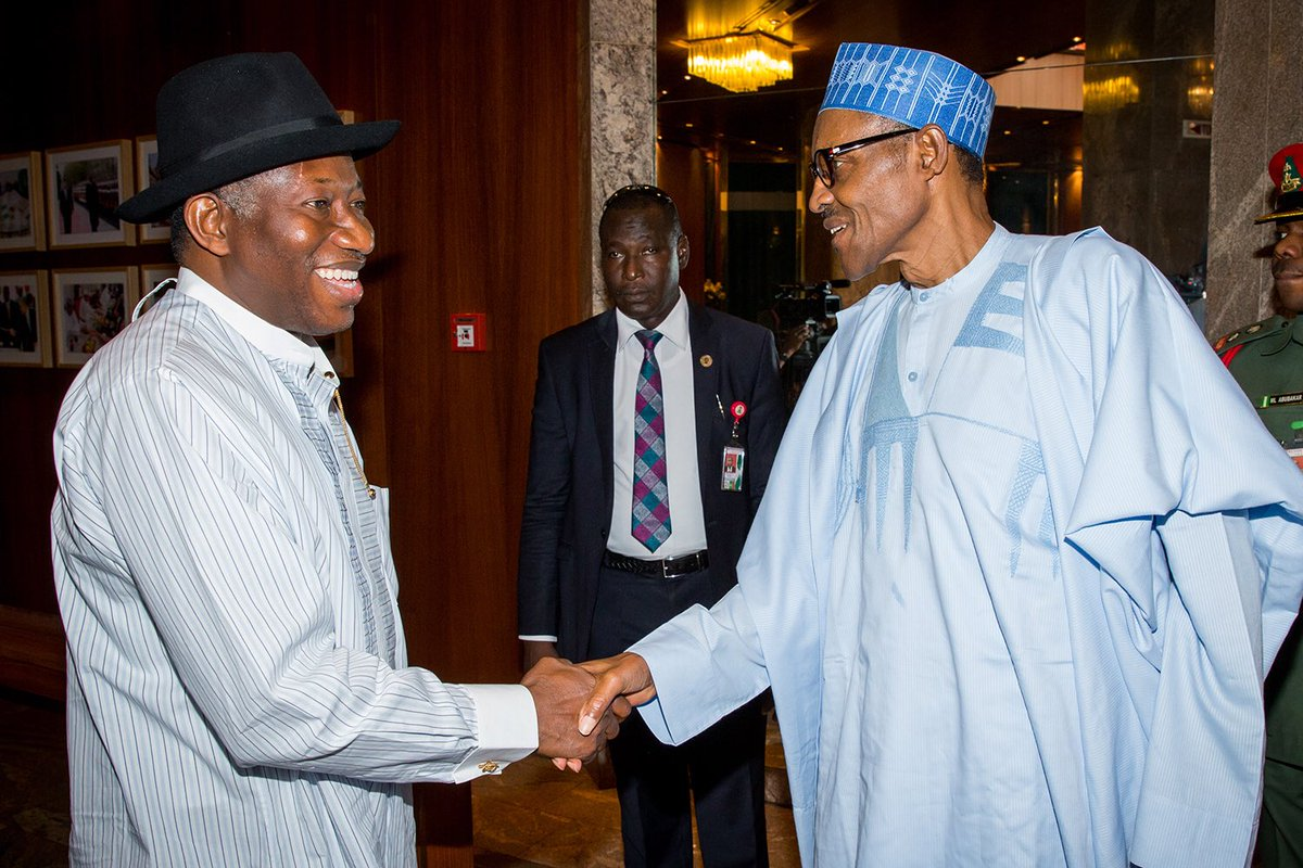 President Muhammadu Buhari has warmly felicitated with former President Goodluck Ebele Jonathan on his 60th birthday, today, November 20th, 2017.