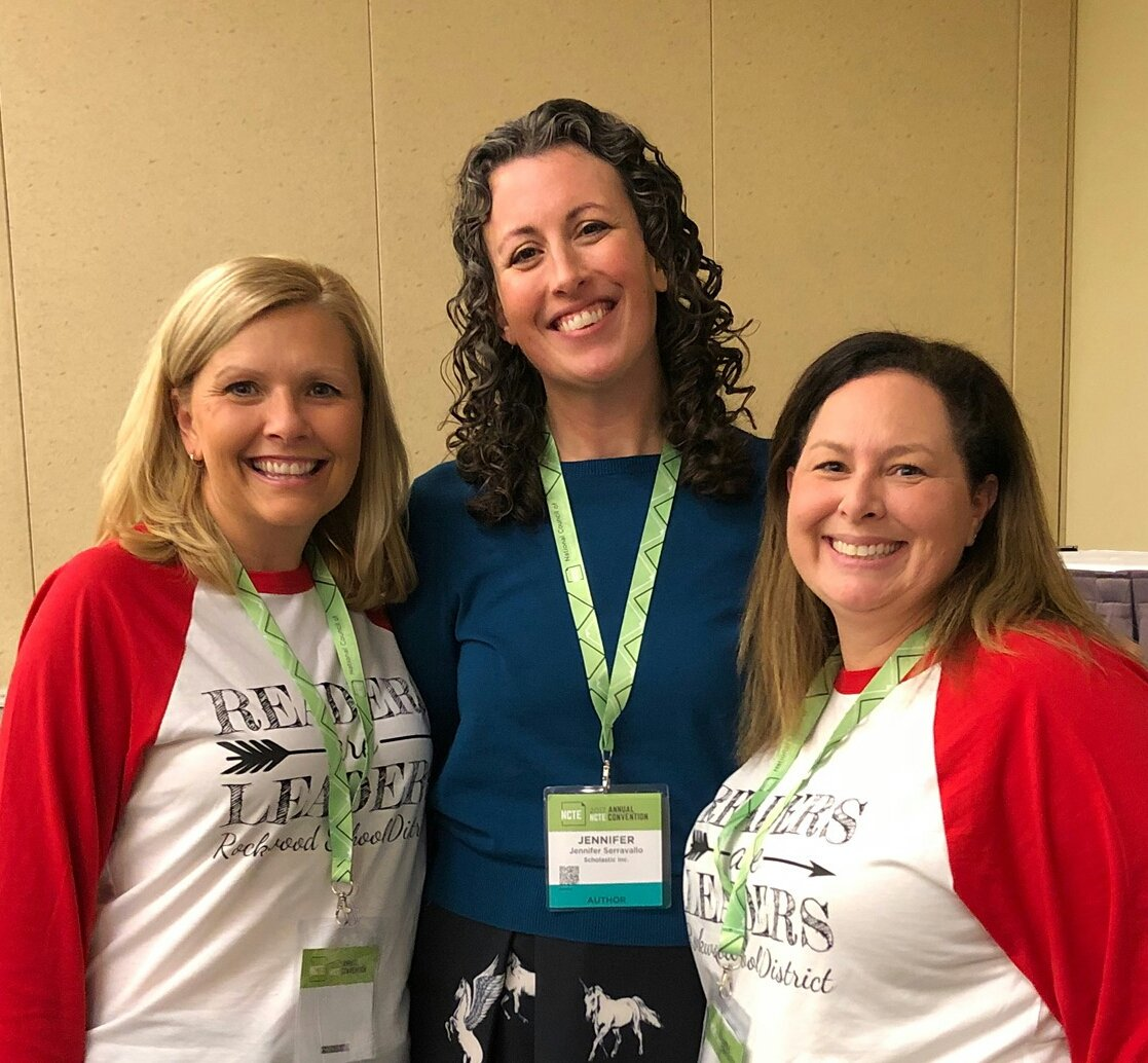 NCTE grand finale session. They saved the best for last! @JSerravallo @AmyOrr24
