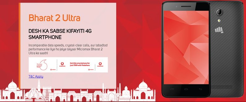 Micromax Bharat 2 Ultra Vodafone offer Terms & Condition https://t.co/Xwx1hAaUYq https://t.co/KTMuHr7o47