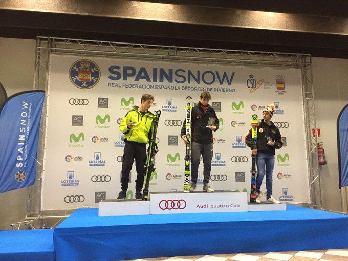 Ya tenemos los primeros ganadores de la Copa de España U16. Arrieta Rodriguez del CEVA y Marc Vilalta del Granuec. Felicidades a los dos! https://t.co/gpIongZQy9 @Clubaranes @clubesquiceva @MadridSnowZone @RFEDInv @granuec