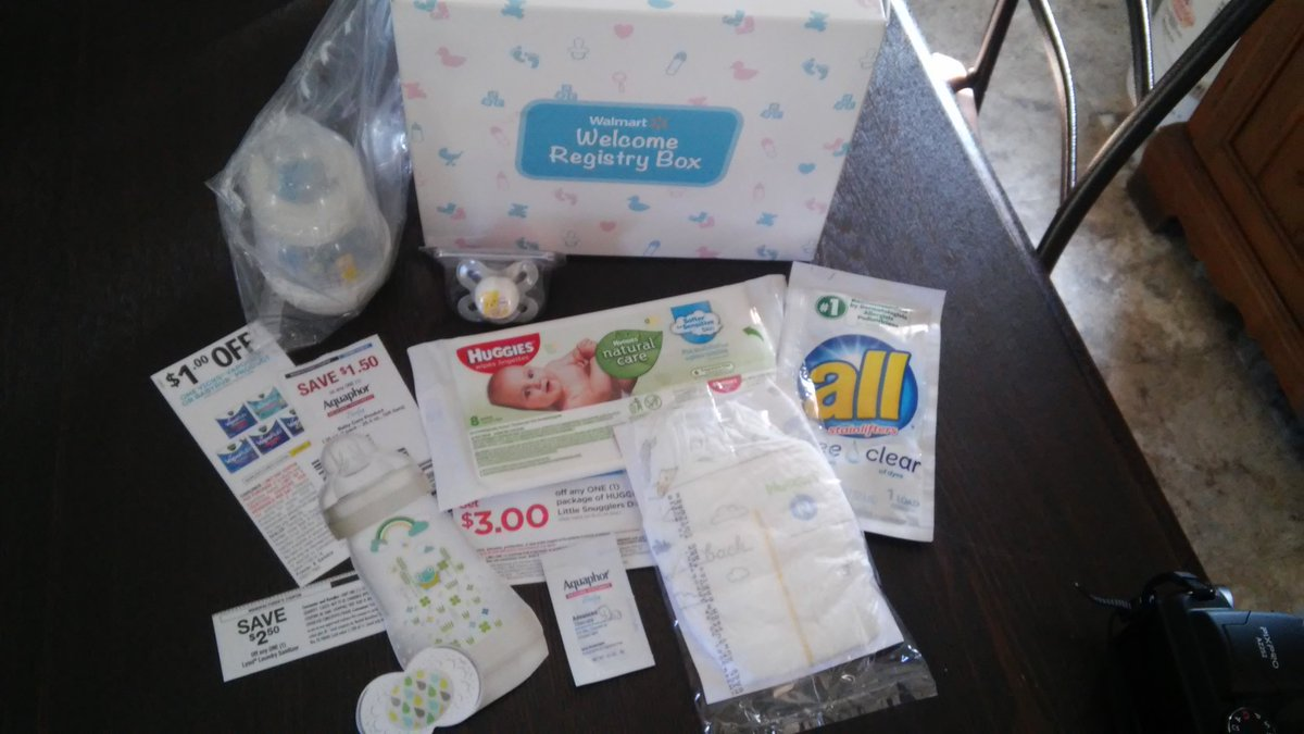 Deborah Wilson On Twitter This Is The Welcome Registry Box From