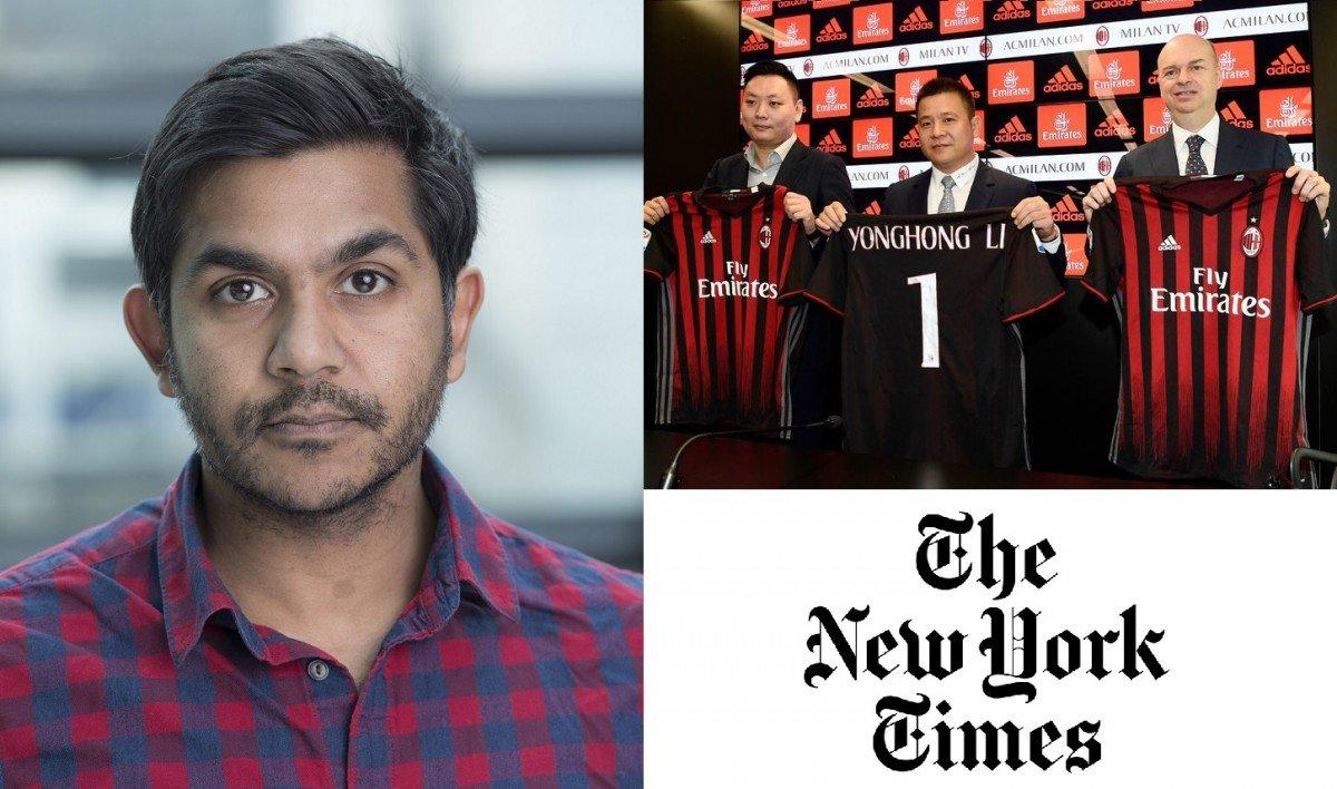 """Il New York Times: """"Non si capisce come il Milan ripagherà Elliott"""" - https://t.co/PI1D2xDhMw #blogsicilianotizie #todaysport"""