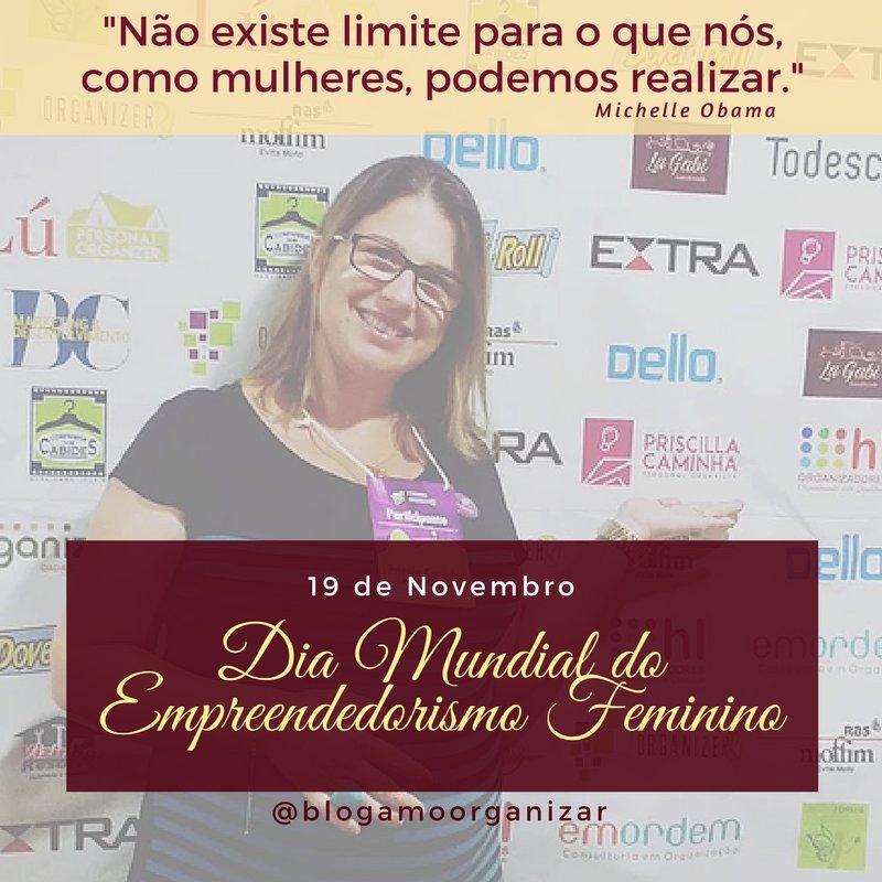 Parabéns para nós empreendedoras, mulheres, mães, empoderadas e fortes por este dia. #empreendedorismofeminimo #19denovembro #souempreendedorapic.twitter.com/OSWvlJ7pwy