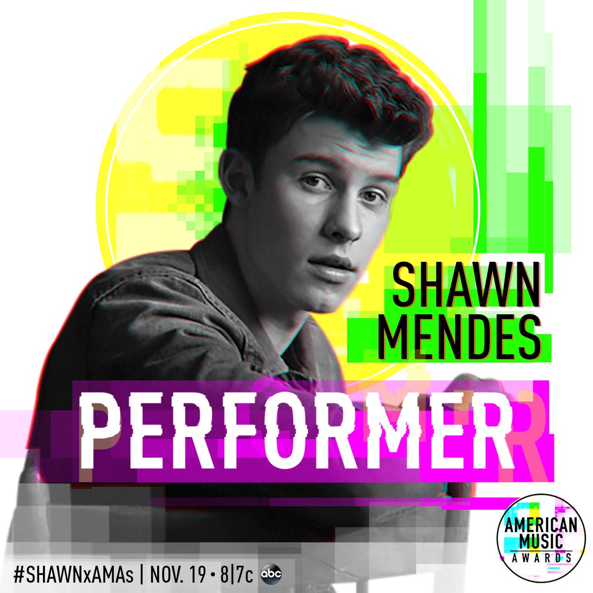 Tonight @ShawnMendes is performing @AMAs...