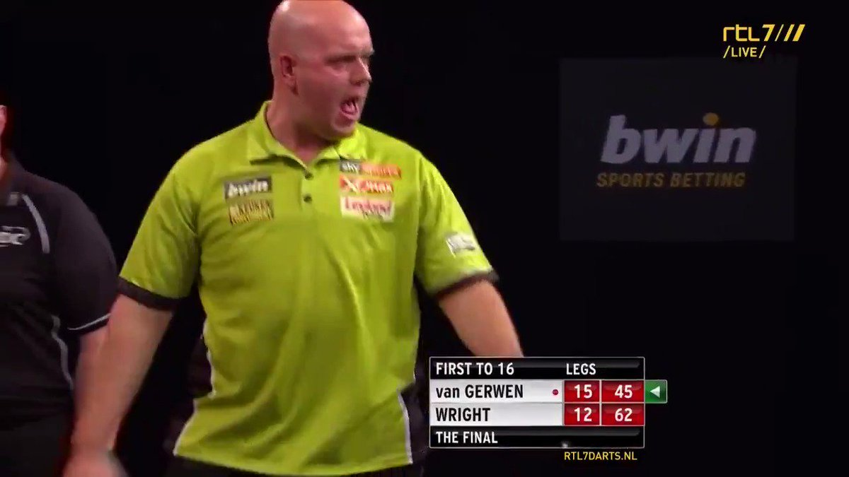 GAME OFF - VAN GERWEN WINT DE GRAND SLAM OF DARTS! #rtl7darts
