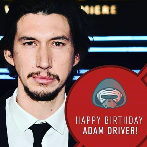 Happy birthday Adam Driver