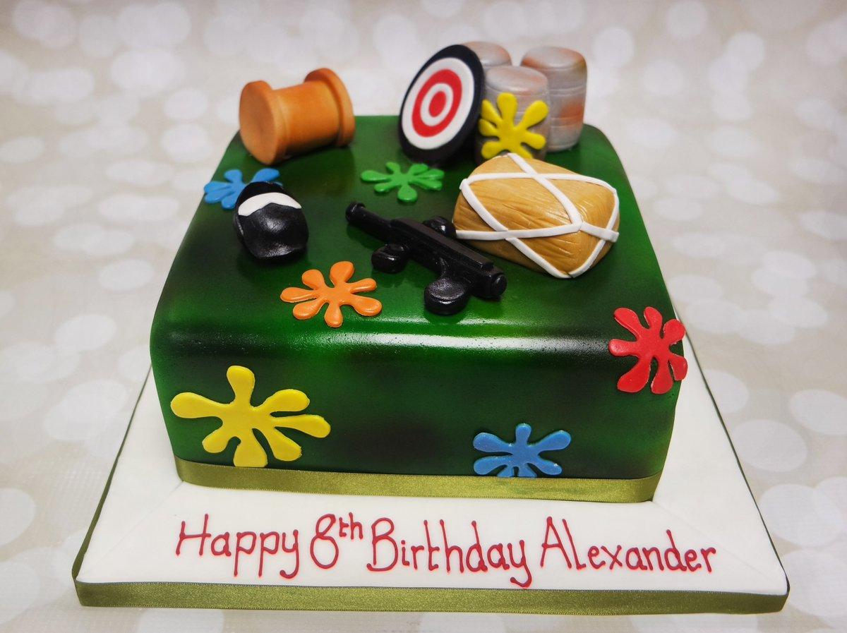 Outstanding Paintballcake Hashtag On Twitter Birthday Cards Printable Giouspongecafe Filternl