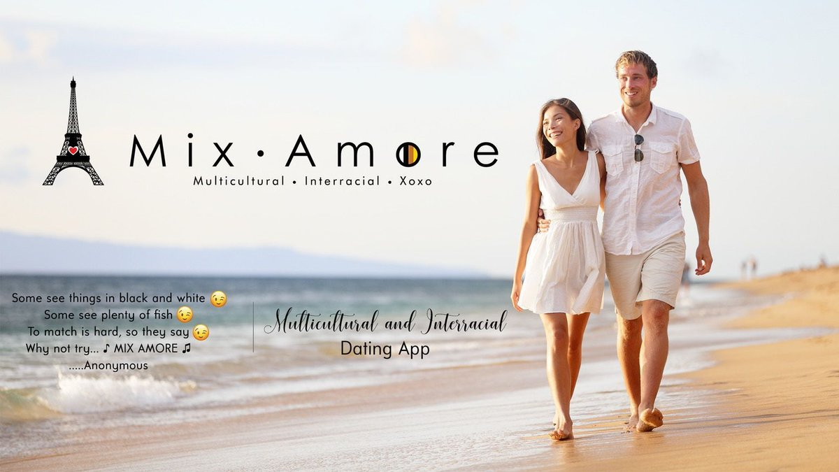 The leading matchmaker for like-minded individuals who have interest in multicultural &amp; interracial relationships - Mix Amore: Interracial Dating App.  https:// buff.ly/2ziC6Kx  &nbsp;   #datingapp #interracialrelationships #matchmaking #app #tech #love<br>http://pic.twitter.com/obkBNLQ4up