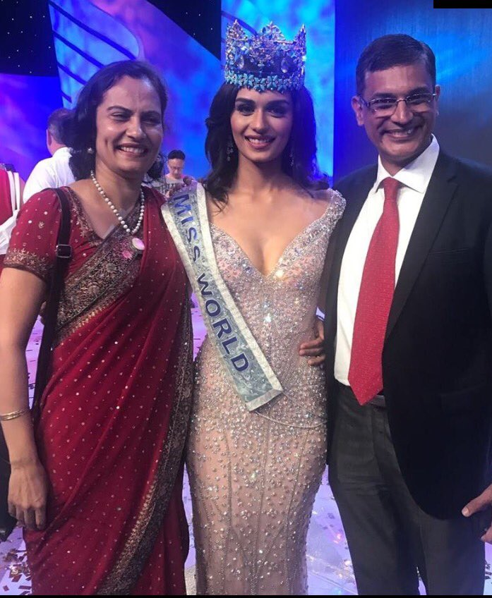 Who Is The Present Miss World 2017 >> Anny Divya On Twitter Sooo Proud Of Her Miss India Is Miss
