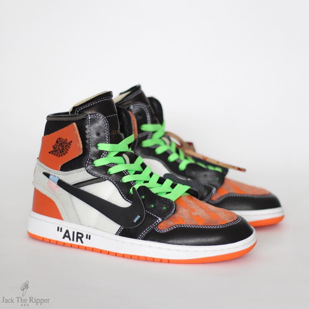 f92b172793d shattered backboard off white x air jordan 1 custom by jack the ripper  would you cop