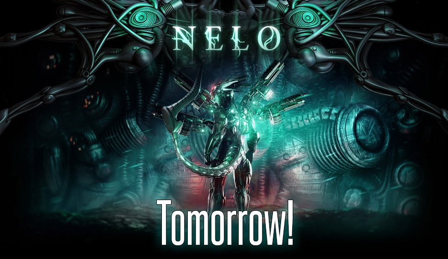 http:// store.steampowered.com/app/537000/Nel o/ &nbsp; …  Get your Hands of Aphelion ready, Nelo will be available on #steam #earlyaccess #tomorrow Nov 20th. #shmup #characteraction #beatemup #bullethell #runandgun #indiegame #ue4 #alien #scifi<br>http://pic.twitter.com/oPXe1xOaP2