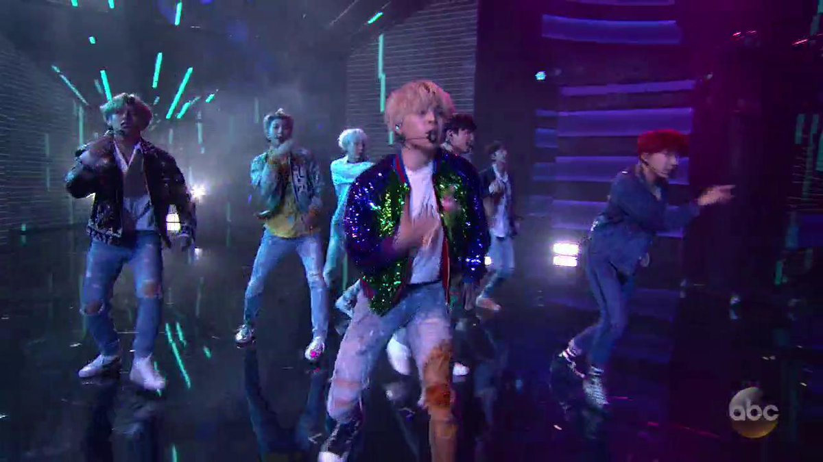 Watch one of the most electric performances you'll see: @BTS_twt at the @AMAs   #AMAs #BTSxAMAs #ARMYxAMAs