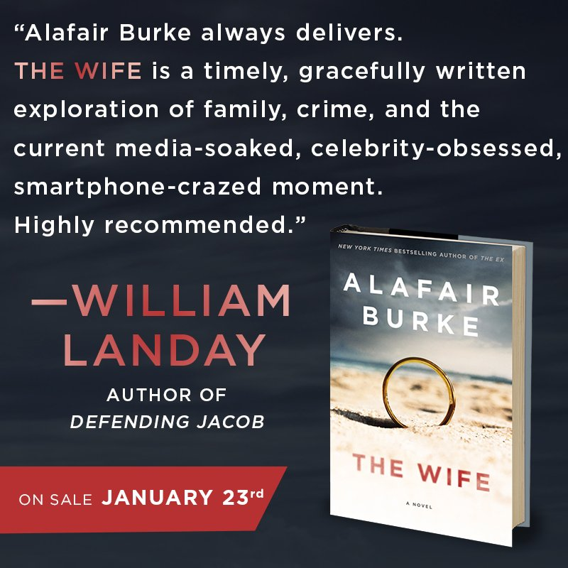 RT @alafairburke: Learn more about THE WIFE and pre-order at https://t.co/k9XCdtEszz https://t.co/XgXp70mglj