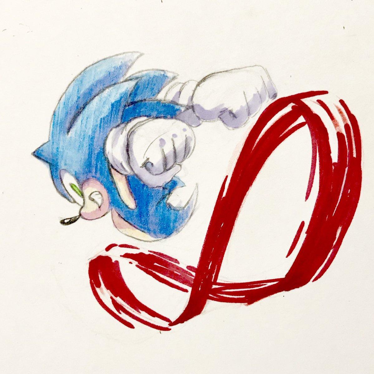 Catch ya later!  #Sonicthehedgehog #sega #art #videogames #drawing<br>http://pic.twitter.com/O5a2Xaz3rJ