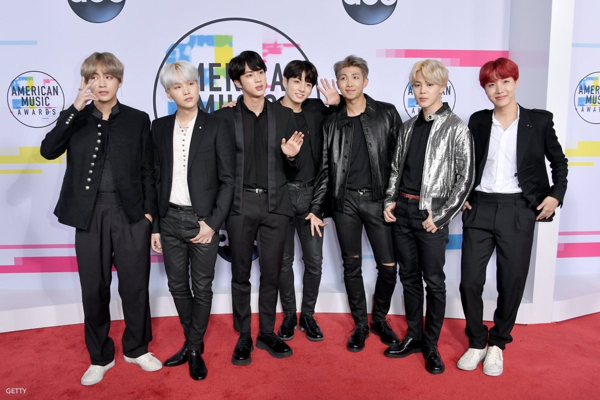 It's official: @BTS_twt has taken over the @AMAs red carpet.  #AMAs #BTSxAMAs #ARMYxAMAs