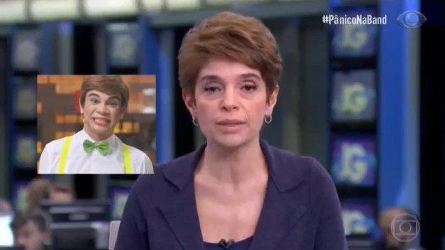 Eita, a Globo trouxe o Boneco Josias pro Jornal? 😂#PanicoNaBand #TáNoLar