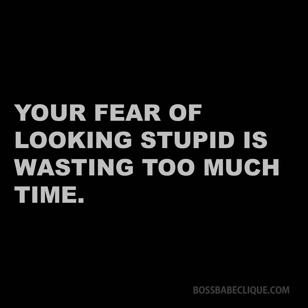 RT @BossBabeClique: Be unafraid.  ♡ #bossbabe #quoteoftheday #picoftheday #mondaymotivation https://t.co/DRDtQvSSq0