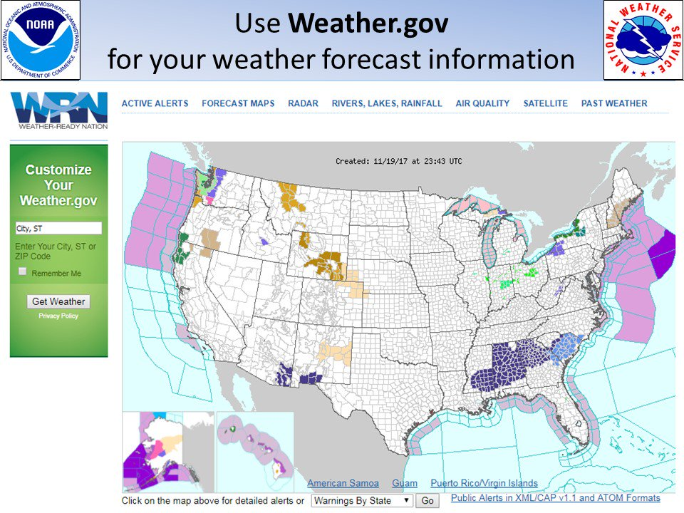 NWS Los Angeles On Twitter Traveling In The US For The - Us weather gov map