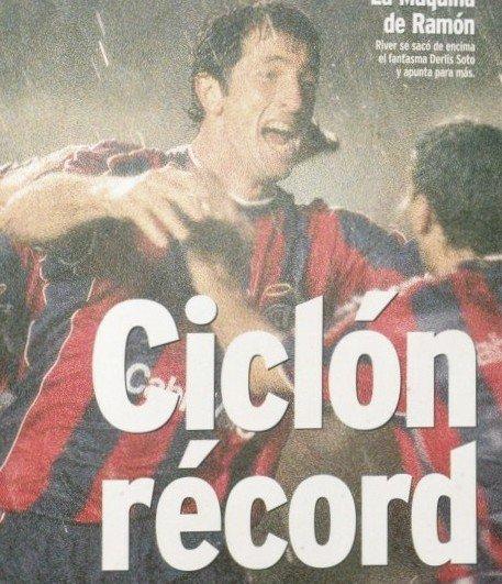 RT @deboedovengocom: Tranquilo nene que al record lo tiene Papá #SanLorenzo https://t.co/gsnGSLTNSc