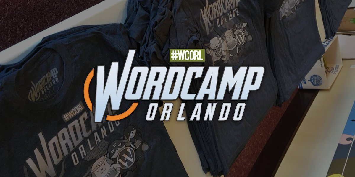 RT @wapuus We had a chance to do an in-kind sponsorship for @WordCampOrlando #WCORL   Check out the cool #swag   https:// wapu.us/sponsored-word camp-orlando-2017/ &nbsp; … <br>http://pic.twitter.com/dN7jWPWeJl