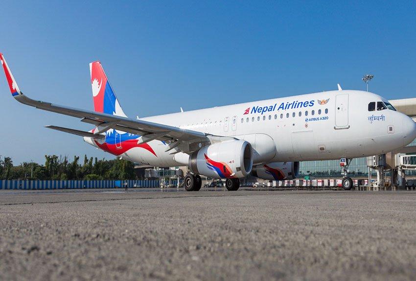 चिल ठोक्किएर नेपाल एयरलाइन्सको जहाज 'ग्राउन्डेड'