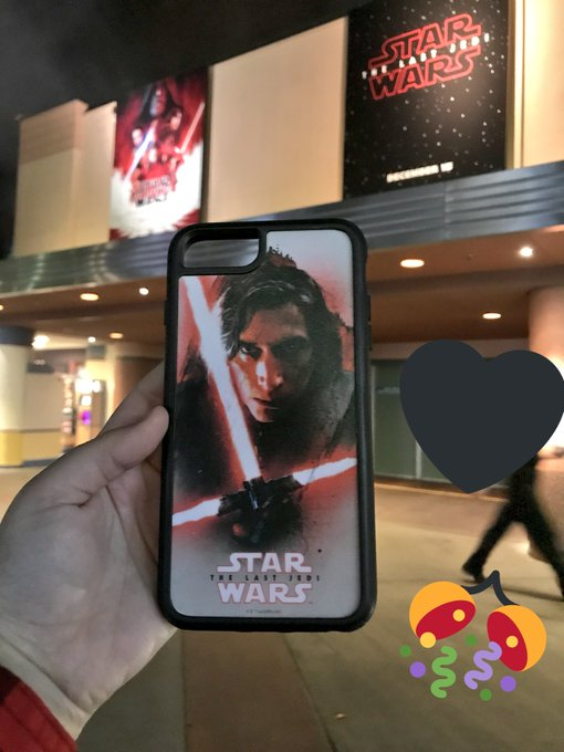 HAPPY BIRTHDAY ADAM DRIVER!!!!!! Look at this awesome case i found at Disney of him