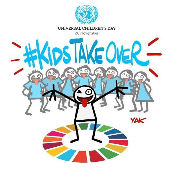 Children deserve a better, more peaceful world. Here's how you can help achieve the #globalgoals https://t.co/JHoTkXTbCp #WorldChildrensDay