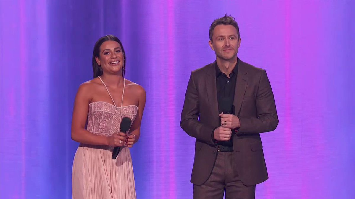 .@hardwick & @LeaMichele take the st...