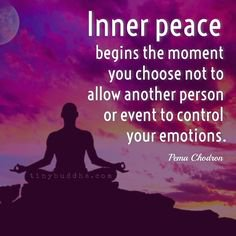 #Inner #peace #begins the #moment you #choose not to #allow another #person or #event to #control your #emotions  #MondayMotivation #MotivationMonday #ThinkBIGSundayWithMarsha #InspireThemRetweetTuesday #IQRTG #JoyTrain <br>http://pic.twitter.com/6q5jYPIZRl