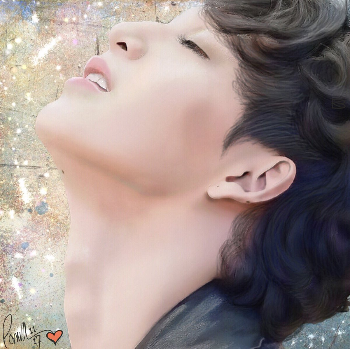 As usual I went in search of inspiration. My need to #draw is constant, it quiets my mind so I can meditate. #JTforBbasjtr provided me a goldmine. Thank you for this #AMAZING look at #Bbas.  #drawing #highlight #contour #shadow #art #artist #artwork #2Moonstheseries #love #Bas<br>http://pic.twitter.com/x45u1CyXEx
