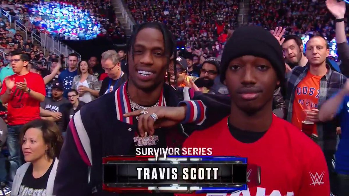Houston's own @trvisXX is taking it all...