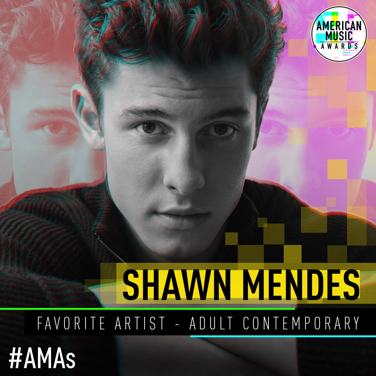 RT @AMAs: The winner of Favorite Artist - Adult Contemporary is... @ShawnMendes ! #AMAs https://t.co/f3stYKiLv9