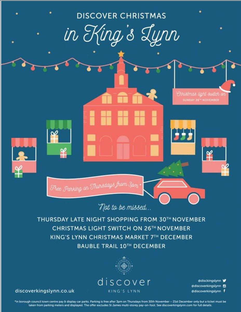Christmas in King&#39;s Lynn #Christmas #ChristmasMarket #LateNightShopping  #Freeparking #KingsLynn #LynnLumiere #Shoplocal #Norfolk<br>http://pic.twitter.com/TBZR4UqNCY
