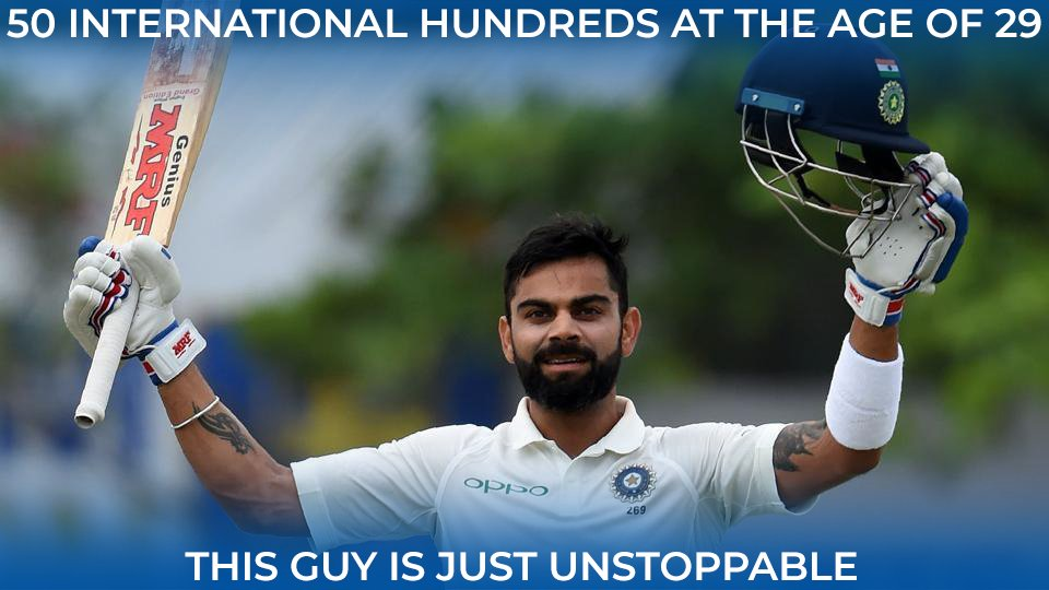 Virat Kohli scores a brilliant hundred after bagging a duck in the first innings