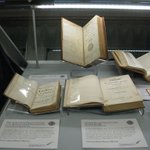 Pictured here are a selection of the books that can be adopted through our 'Adopt a Book' scheme. They include Mary Astell's 'A Serious Proposal to the Ladies' (1694), Mary Robinson's 'Poems' (1791) as well as works by Jane Austen. For more details: https://t.co/nuoEG3pN7A
