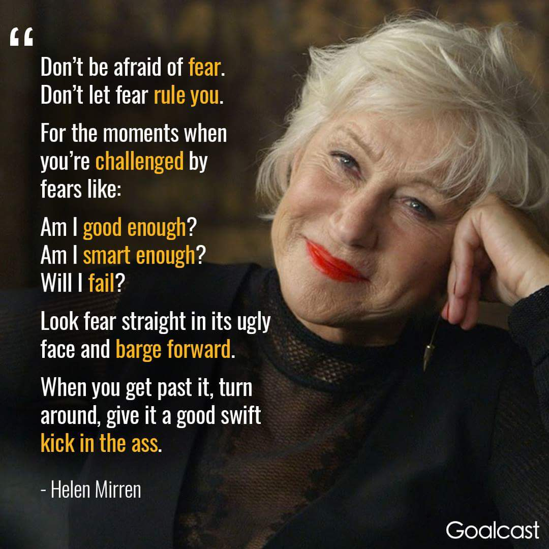 Don&#39;t be afraid of fear. Don&#39;t let fear rule you. #ThinkBIGSundayWithMarsha #SuccessTRAIN #JoyTrain  #makeyourownlane #IQRTG #defstar5 #Mpgvip #spdc  #MondayMotivation  #InspireThemRetweetTuesday<br>http://pic.twitter.com/hH0Yri1UdW