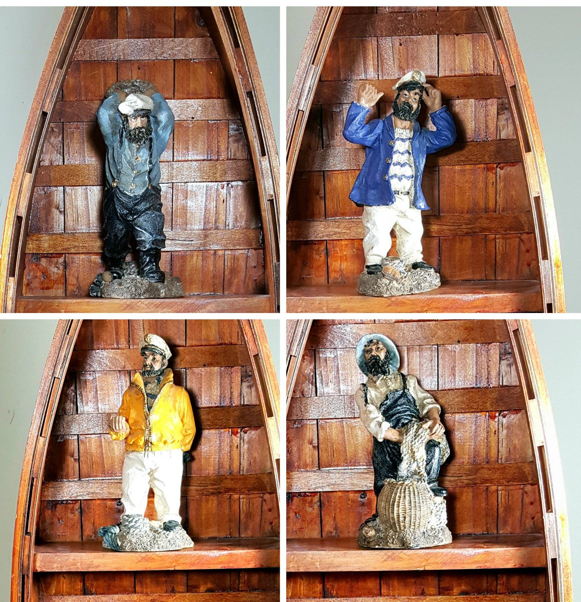 Rustic SEA CAPTAIN FIGURINES Nautical Decor Beach Coastal Decor Figures o…  http:// etsy.me/2x3gAHE  &nbsp;   #vintage #ManCave <br>http://pic.twitter.com/0Wb25JH44b