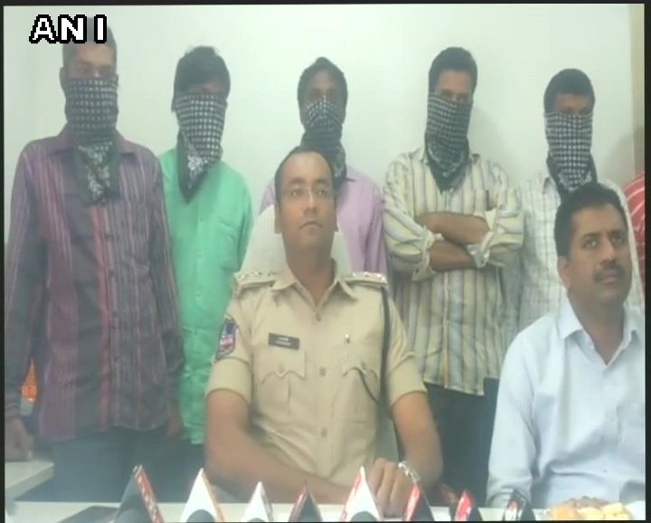 We received complaint from child welfare that some people are running an uncertified school converting poor children to Islam. After probe we rescued 17 children from premises of the school in Moula Ali, 9 people were arrested &amp; sent to judicial remand.: ACP Malkajgiri #Telangana <br>http://pic.twitter.com/LmfH7Apz4q