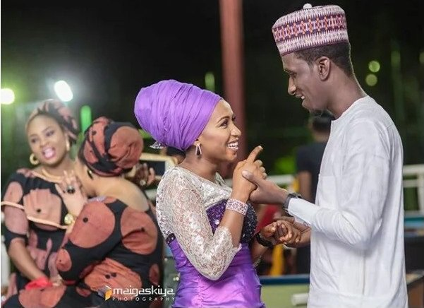 The Nigerian Police has confirmed the arrest of Maryam Sanda for allegedly stabbing her husband, ex-PDP chairman's son, Bilyamin Bello, to death.