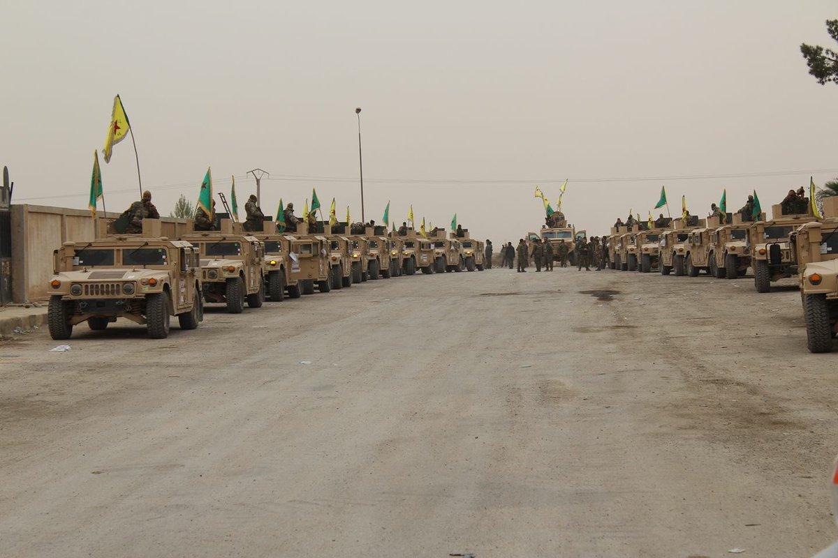 قوات سوريا الديمقراطيه ( قسد ) .......نظرة عسكريه .......ومستقبليه  DPDqDGZXUAALzVW