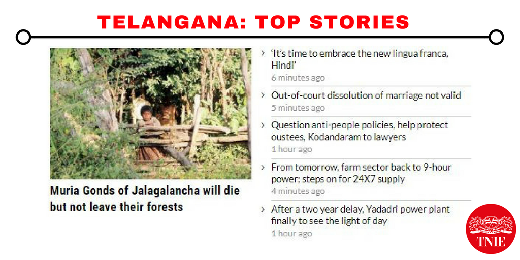 Read all the stories from #Telangana here:  http://www. newindianexpress.com/states/telanga na &nbsp; … <br>http://pic.twitter.com/lyQCSFz6T2