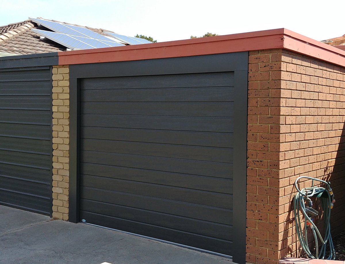 Everlift Garage Door On Twitter Transformation Of A Tilt A Door To