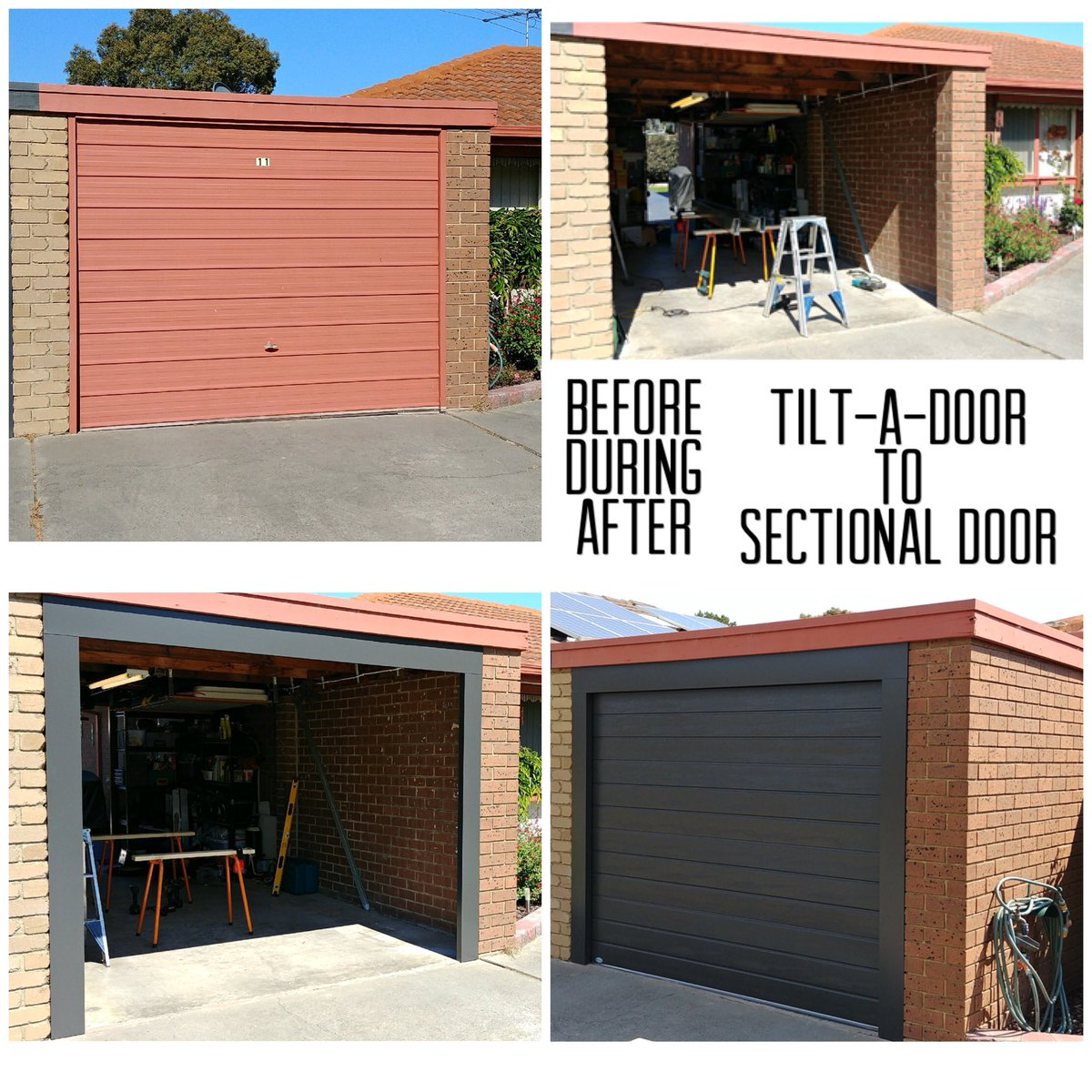 Everlift Garage Door On Twitter Transformation Of A Tilt A Door To