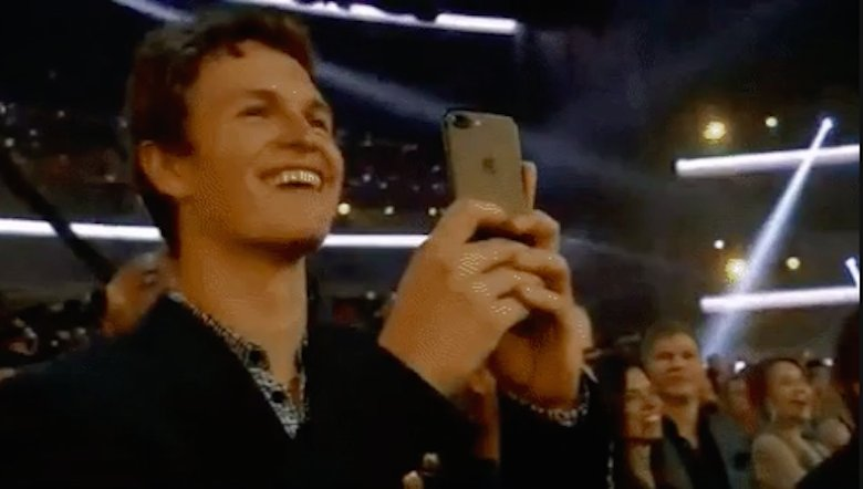 Ansel Elgort Watching BTS Was Everyone Watching BTS at the AMAs https://t.co/8pNZsGEYfl