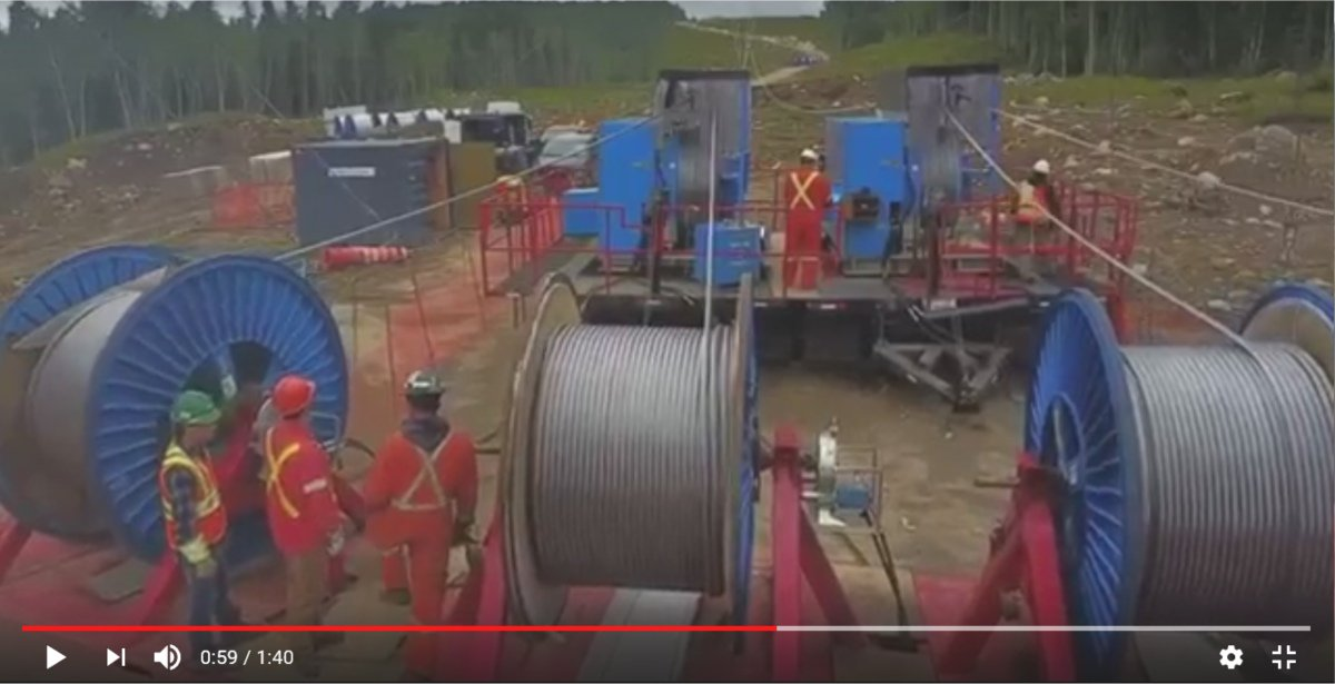 Does your next project involve working on or installing extra high #voltage #overheadpowerlines #cabling? If so, check out here the #OMAC #Cable Reelers and OMAC #Winches working together in total harmony  http:// ow.ly/yxY630gGUUc  &nbsp;   As exclusive UK OMAC distributor call: 01773 603997<br>http://pic.twitter.com/rBCI3MENCi