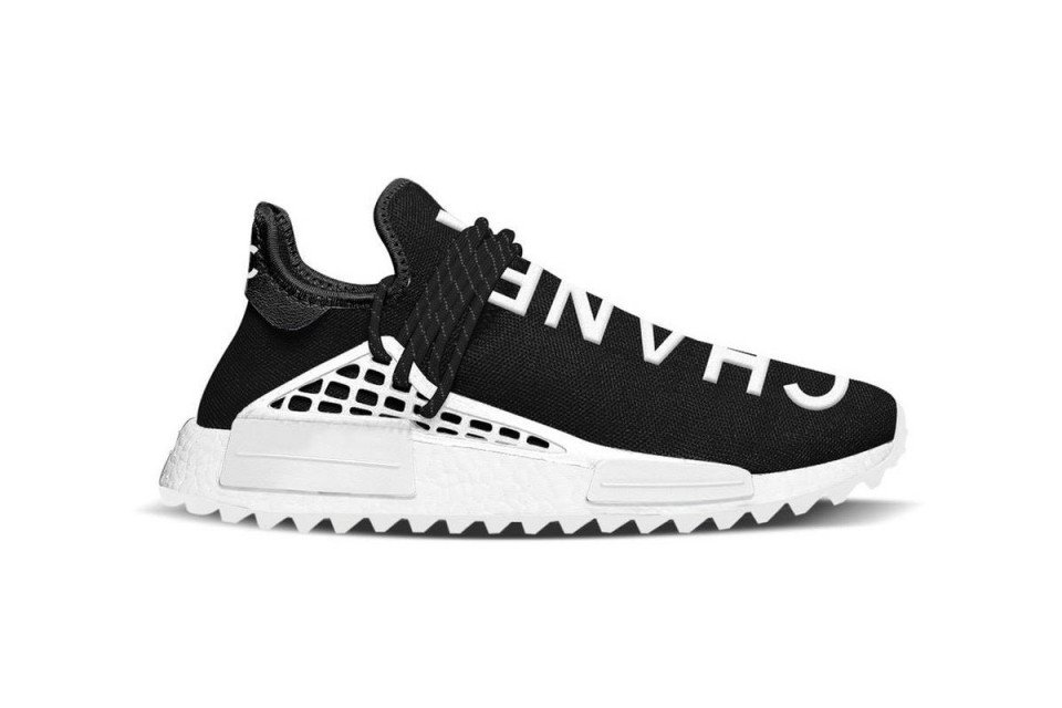 ef0ff3c52 heres how to buy the chanel x pharrell x adidas nmd hu on november 21