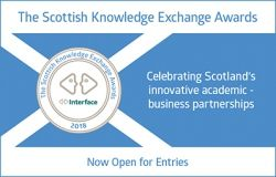 &quot;Celebrating Scotland&#39;s innovative academic-business partnerships&quot; - we&#39;re already looking forward to 2018&#39;s @interfaceonline @ScotKEAwards! Entries close in one week, so there&#39;s still time... #getinvolved #mostinnovative  http:// uod.ac.uk/2hXUiP4  &nbsp;  <br>http://pic.twitter.com/MgLW8jnSxX