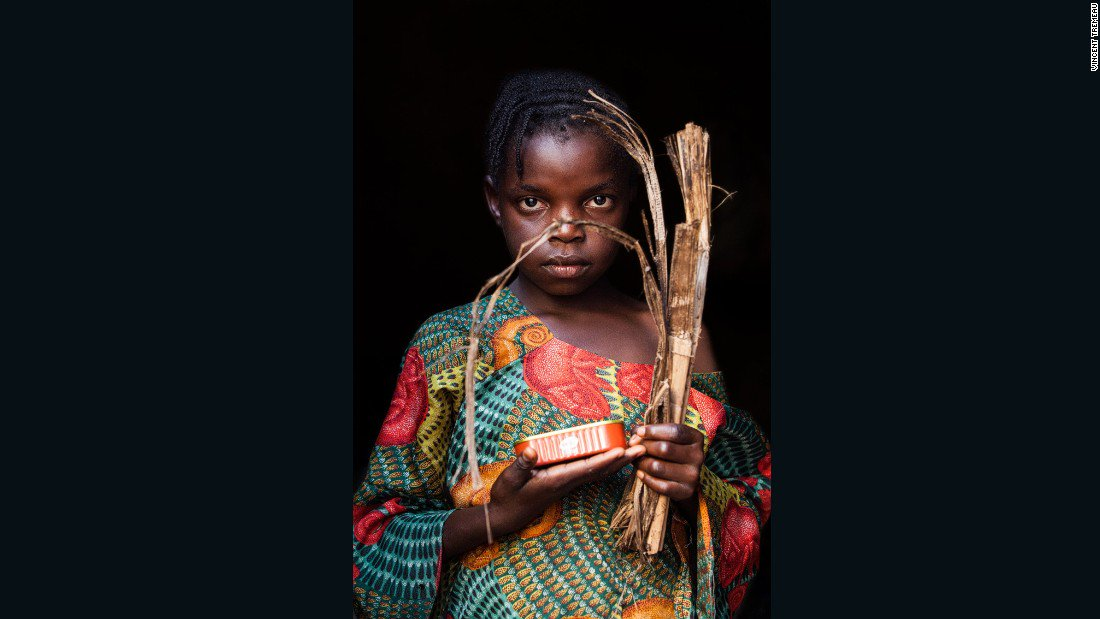 """Safinatou from Central African Republic says """"one day I will be a Chef."""" #WorldChildrensDay"""