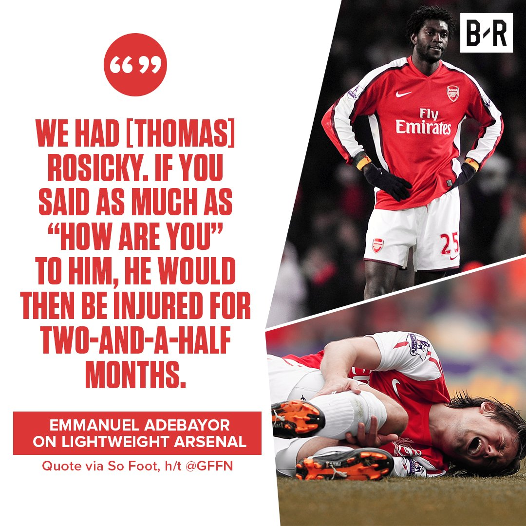 RT @brfootball: What a quote from Emmanuel Adebayor 🙈 https://t.co/wQ0Jn3M5kw