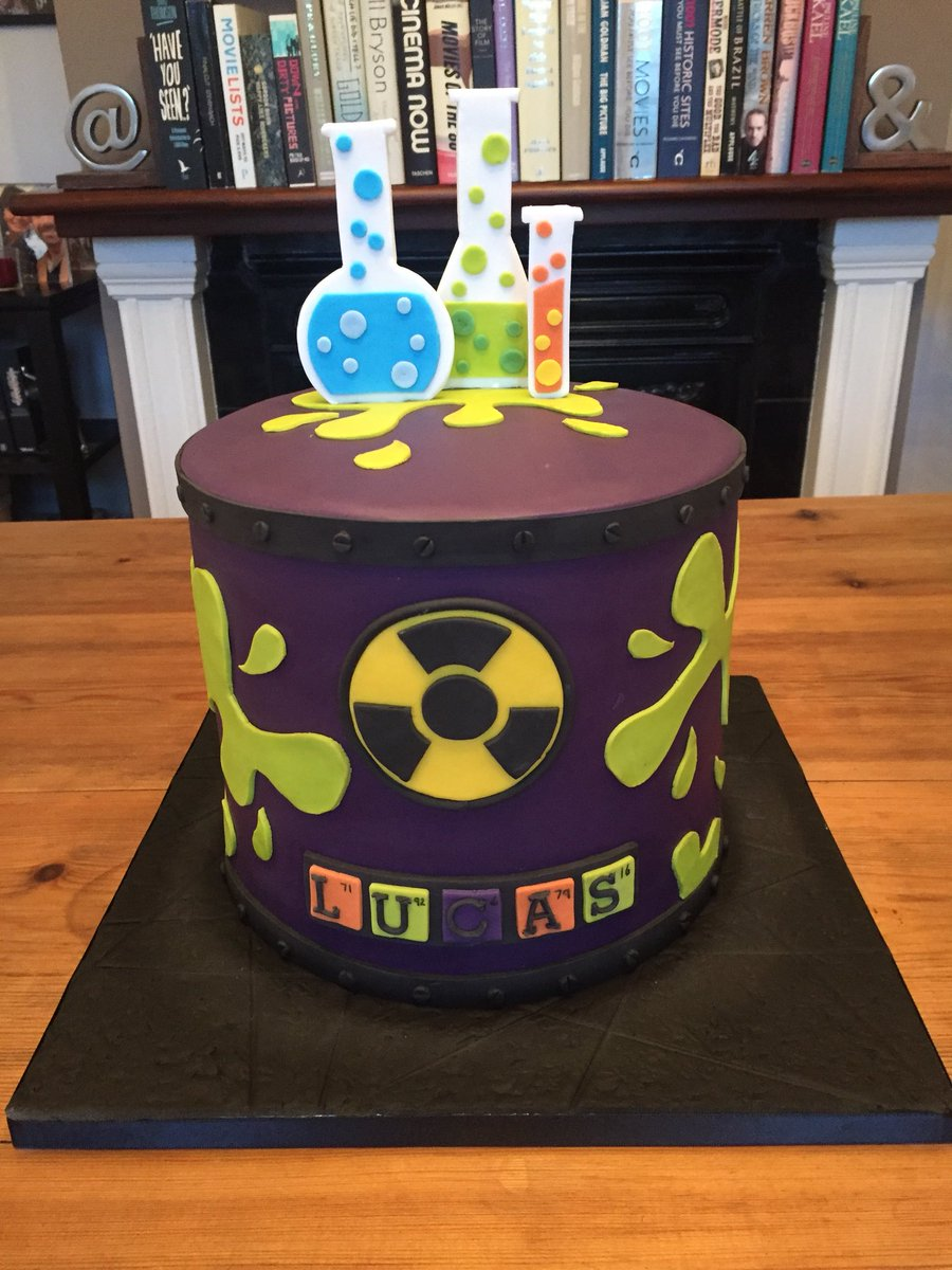 Pleasant Clintons Cakes On Twitter Great Scott Mad Science Themed Funny Birthday Cards Online Elaedamsfinfo